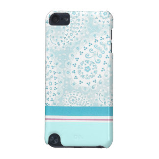 Teal Paisley iPod Touch Case