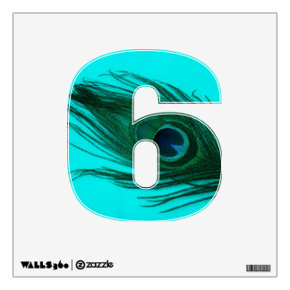teal peacock wall decals amp wall stickers zazzle best peacock wall decal products on wanelo