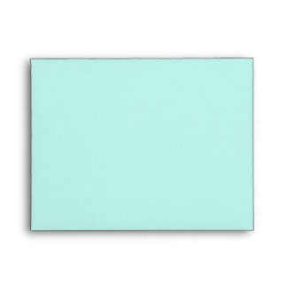 Teal Pearl Thank You Card Envelopes