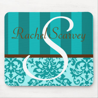 Teal Personalized Mouse Pad
