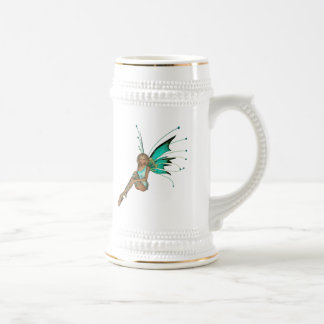 Teal Pixie 3D -1 Coffee Mug