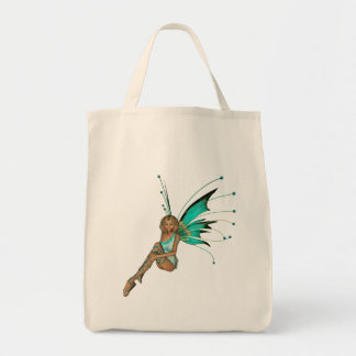 Teal Pixie 3D -1 Tote Bag