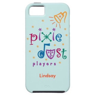 Teal Pixie Dust Players iPhone 5 Case