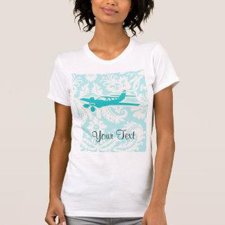 Teal Plane T Shirts