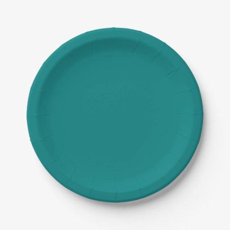 Teal Plates