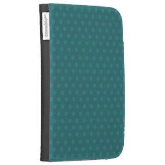 Teal Polka Dots 3rd Generation Kindle Case
