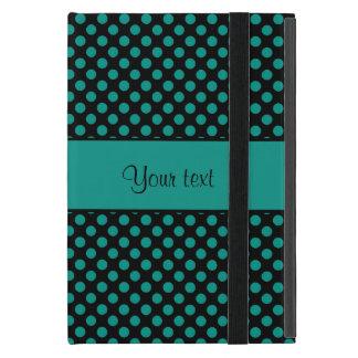 Teal Polka Dots Case For iPad Mini