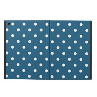 Teal Polka Dots ipad air case