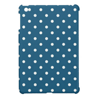 Teal Polka Dots iPad Mini Covers