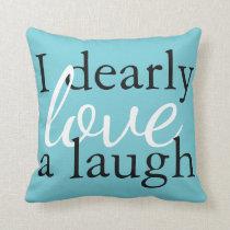 Teal Pride Prejudice Pillow Jane Austen Book Quote