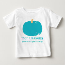 Teal Pumpkin Custom Food Allergy Halloween Kids Baby T-Shirt