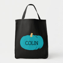Teal Pumpkin Kids Food Allergy Awareness Halloween Tote Bag