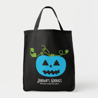 Teal Pumpkin Project Trick or Treat Tote Bag