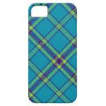 Teal/Purple/Lime Tartan Plaid iPhone Case iPhone 5 Cases