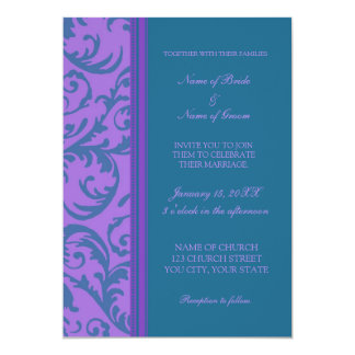 Purple And Teal Wedding Invitations is one of our best ideas you might choose for invitation design