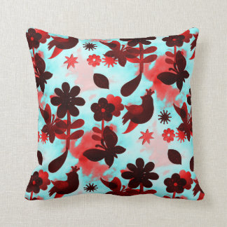 Faded Red PillowsDecorativeThrow PillowsZazzle