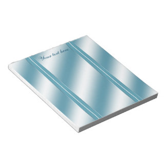 Teal Reflection Notepad