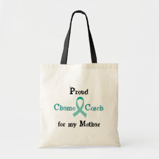Teal Ribbon Chemo Coach Tote