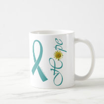 Teal Ribbon Hope Mug