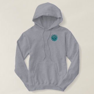 Teal Ribbon I will survive! Hoodie