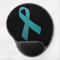 Teal Ribbon mouse pad