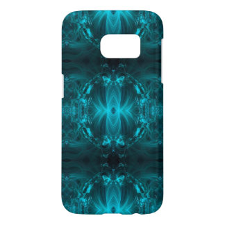 Teal Ribbons Samsung Galaxy S7 Case