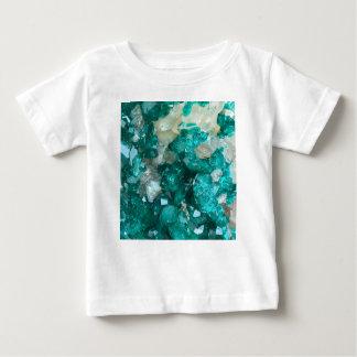 Teal Rock Candy Quartz Baby T-Shirt