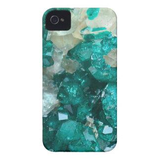 Teal Rock Candy Quartz iPhone 4 Case