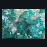 """Teal Rock Candy Quartz Placemat<br><div class=""""desc"""">Teal Rock Candy Quartz</div>"""