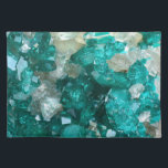 "Teal Rock Candy Quartz Placemat<br><div class=""desc"">Teal Rock Candy Quartz</div>"