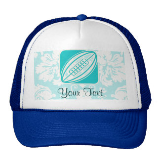 Teal Rugby Trucker Hat