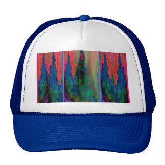 Teal-Salmon Forest Cathedral Spires Gifts-Sharles Trucker Hat