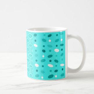Teal Saucer Mug