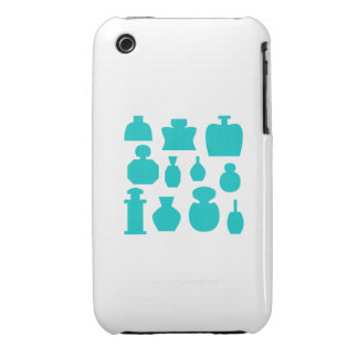 Teal Scent Bottles. Case-Mate iPhone 3 Cases