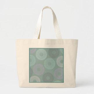 Teal Sea Foam Green Lace Doily Bags