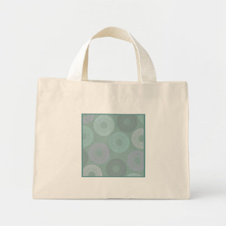Teal Sea Foam Green Lace Doily Small Bags