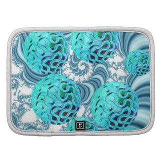 Teal Sea Forest Abstract Underwater Ocean Organizers