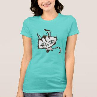 Teal Sky Kitty T-Shirt