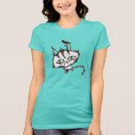 Teal Sky Kitty Tee Shirt
