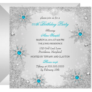 Winter Wonderland Party Invitations Zazzle
