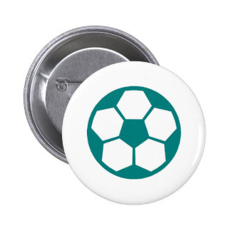 """Teal """"SOCCER BALL"""" image Button"""