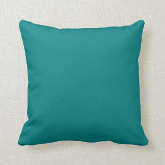 Teal Solid Color Pillows