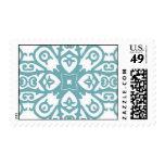 Teal Spanish Tile Stamp