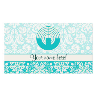Teal Sport Shooting Business Card