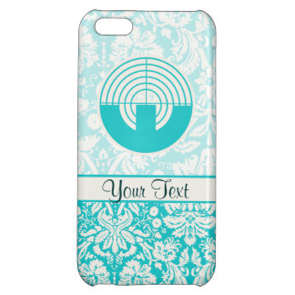 Teal Sport Shooting iPhone 5C Cases