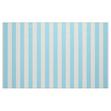 Beach Themed Teal Stripe Fabric