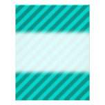 Teal Stripes. Invitations