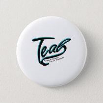 Teal Support Ovarian Cancer Awareness Button
