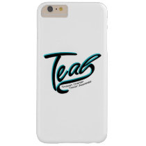 Teal Support Ovarian Cancer Awareness Barely There iPhone 6 Plus Case