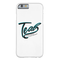 Teal Support Ovarian Cancer Awareness Barely There iPhone 6 Case